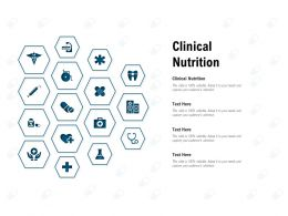 Clinical Nutrition Ppt Powerpoint Presentation Slides Picture