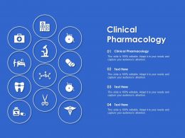 Clinical Pharmacology Ppt Powerpoint Presentation Pictures Ideas