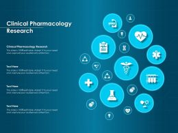 Clinical Pharmacology Research Ppt Powerpoint Presentation File Structure