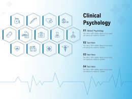 Clinical Psychology Ppt Powerpoint Presentation Slides Templates