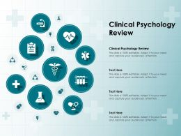 Clinical Psychology Review Ppt Powerpoint Presentation Gallery Skills