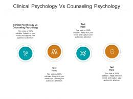 Clinical Psychology Vs Counseling Psychology Ppt Powerpoint Presentation File Microsoft Cpb