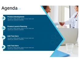 Clinical Research Marketing Strategies Agenda Ppt Background