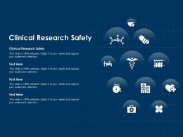 Clinical Research Safety Ppt Powerpoint Presentation Outline Design Templates