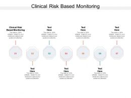 Clinical Risk Based Monitoring Ppt Powerpoint Presentation Styles Skills Cpb