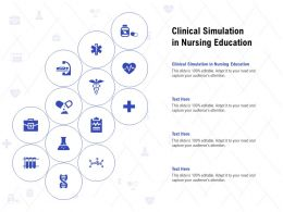 Clinical Simulation In Nursing Education Ppt Powerpoint Presentation Show