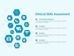 Clinical Skills Assessment Ppt Powerpoint Presentation Inspiration Grid