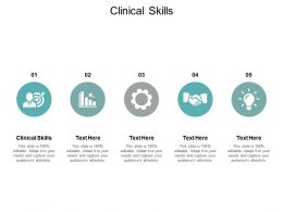 Clinical Skills Ppt Powerpoint Presentation Inspiration Background Images Cpb