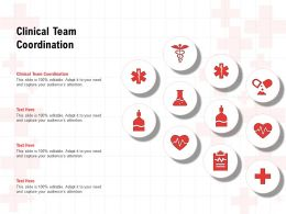 Clinical Team Coordination Ppt Powerpoint Presentation Model Show