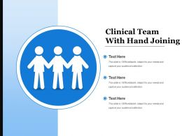 Clinical Team With Hand Joining