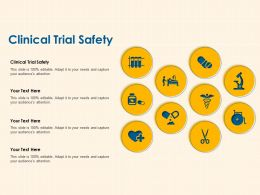 Clinical Trial Safety Ppt Powerpoint Presentation Inspiration Brochure