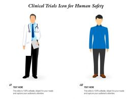 Clinical Trials Icon For Human Safety