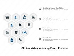 Clinical Virtual Advisory Board Platform Ppt Powerpoint Presentation Ideas Example