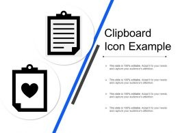 Clipboard Icon Example