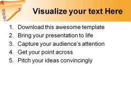 Clipboard List Business PowerPoint Templates And PowerPoint Backgrounds 0611  Presentation Themes and Graphics Slide03