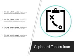Clipboard Tactics Icon