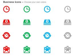 clock_financial_document_process_flow_email_listing_ppt_icons_graphics_Slide02