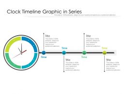 Clock Timeline Graphic In Series