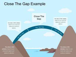 Close The Gap Example