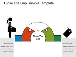 Close The Gap Sample Template