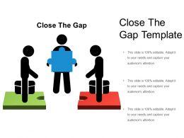 Close The Gap Template