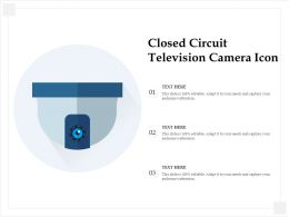 Closed Circuit Television Camera Icon