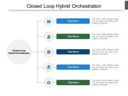 Closed Loop Hybrid Orchestration Ppt Powerpoint Presentation Pictures Cpb