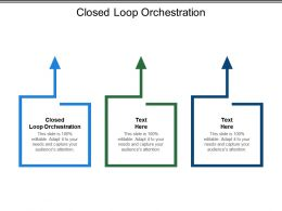 Closed Loop Orchestration Ppt Powerpoint Presentation Graphics Download Cpb