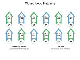 Closed Loop Patching Ppt Powerpoint Presentation Summary Slide Portrait Cpb