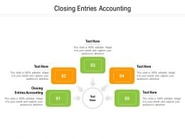 Closing Entries Accounting Ppt Powerpoint Presentation Gallery Images Cpb