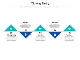 Closing Entry Ppt Powerpoint Presentation Gallery Good Cpb