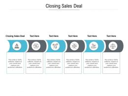 Closing Sales Deal Ppt Powerpoint Presentation File Slideshow Cpb
