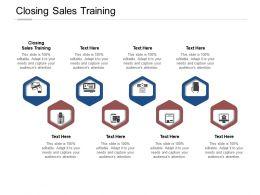 Closing Sales Training Ppt Powerpoint Presentation Summary Slides Cpb