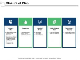Closure Of Plan Approvals Ppt Powerpoint Presentation Infographic Template Ideas