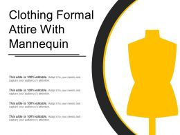 Clothing Formal Attire With Mannequin