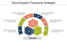 Cloud Adoption Framework Strategies Ppt Powerpoint Presentation Layouts Cpb