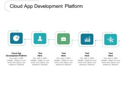 Cloud App Development Platform Ppt Powerpoint Presentation Gallery Graphics Cpb