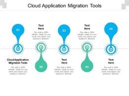 Cloud Application Migration Tools Ppt Powerpoint Presentation Gallery Outline Cpb