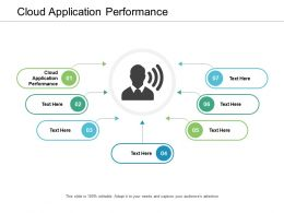 Cloud Application Performance Ppt Powerpoint Presentation Inspiration Introduction Cpb