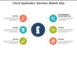 Cloud Application Services Market Size Ppt Powerpoint Presentation Show Examples Cpb