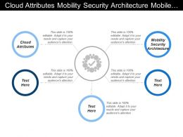 Cloud Attributes Mobility Security Architecture Mobile Device Management