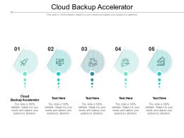 Cloud Backup Accelerator Ppt Powerpoint Presentation Infographics Slide Cpb