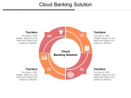 Cloud Banking Solution Ppt Powerpoint Presentation Summary Templates Cpb