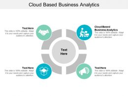 Cloud Based Business Analytics Ppt Powerpoint Presentation Ideas Backgrounds Cpb