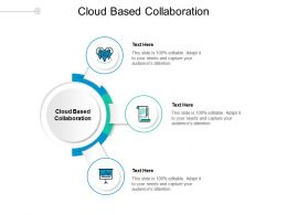 Cloud Based Collaboration Ppt Powerpoint Presentation Styles Ideas Cpb