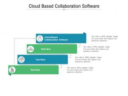 Cloud Based Collaboration Software Ppt Powerpoint Presentation Slide Download Cpb