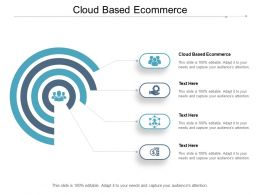 Cloud Based Ecommerce Ppt Powerpoint Presentation Infographic Template Information Cpb