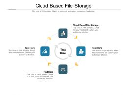Cloud Based File Storage Ppt Powerpoint Presentation Model Clipart Cpb