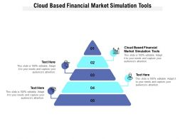 Cloud Based Financial Market Simulation Tools Ppt Powerpoint Presentation Outline Ideas Cpb