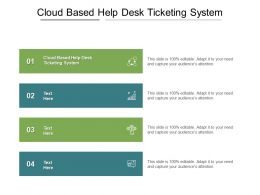 Cloud Based Help Desk Ticketing System Ppt Powerpoint Presentation Icon Templates Cpb